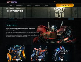 Transformers Universe screenshot